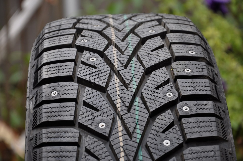 "Studded Winter Tires >> Gislaved Nord*Frost 100 with ""Tristars"" – Another Original Stud Design   Saskatchewan Studded ..."
