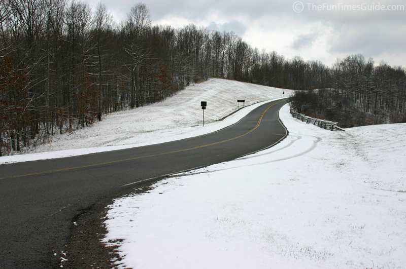 Winter Road Natchez